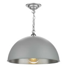 David Hunt EAL8639 Ealing Pendant Powder Grey 42cm
