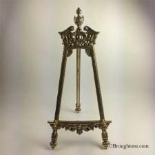 57cm Barocco Easel Brass