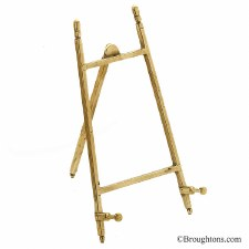 Plain Easel 20cm Polished Brass