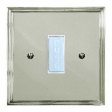 Edwardian Fused Spur Connection Unit 13 Amp Polished Nickel