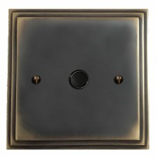 Edwardian Flex Outlet Dark Antique Relief
