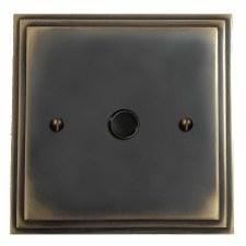 Edwardian Flex Outlet Dark Antique Relief