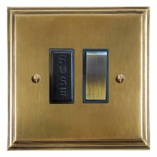 Edwardian Switched Fused Spur Antique Satin Brass