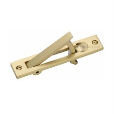Heritage Pocket Door Edge Pull C1165 Satin Brass