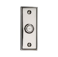 Heritage V1180 Edwardian Bell Push Polished Nickel