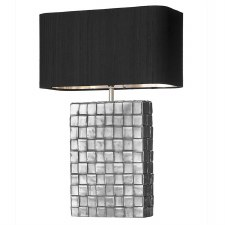 David Hunt ELE4367 Element Table Lamp Base Pewter