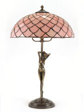 Eliza Large Art Nouveau Table Lamp