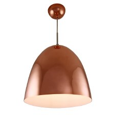 Copper Pendant Ceiling Light 300mm Diameter