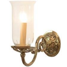 Empire Single Wall Light Polished Brass