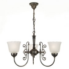 Enderby 3 Arm Chandelier
