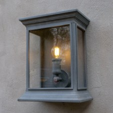 English Coach Wall Lamp Zinc