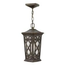 Hinkley Enzo Outdoor Chain Lantern Autumn