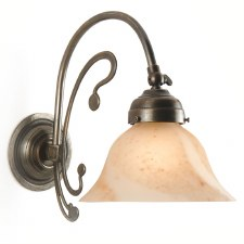 Er (Adj) Art Nouveau Single Wall Light