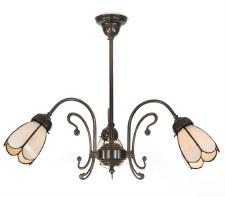 Er Art Nouveau 3 Arm Pendant Light