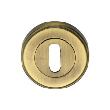 Heritage ERD7000 Escutcheon Antique Brass Lacquered