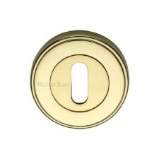 Heritage ERD7000 Escutcheon Polished Brass Lacquered