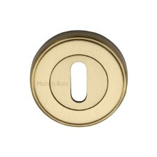 Heritage ERD7000 Escutcheon Satin Brass Lacquered