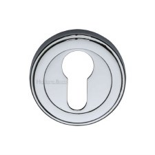 Heritage ERD7020 Euro Profile Escutcheon Polished Chrome