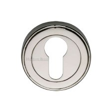 Heritage ERD7020 Euro Profile Escutcheon Polished Nickel