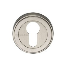 Heritage ERD7020 Euro Profile Escutcheon Satin Nickel
