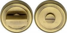 Heritage ERD7030 Bathroom Thumb Turn & Release Antique Brass Lacq