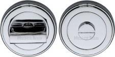 Heritage ERD7030 Bathroom Thumb Turn & Release Polished Chrome