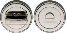 Heritage ERD7030 Bathroom Thumb Turn & Release Polished Nickel