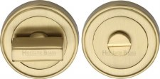 Heritage ERD7030 Bathroom Thumb Turn & Release Satin Brass Lacquered