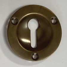 Aston Sunken Escutcheon 44mm Antique Brass Unlacquered