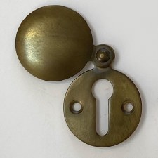 Aston Covered Escutcheon 0175 Antique Brass Unlacquered