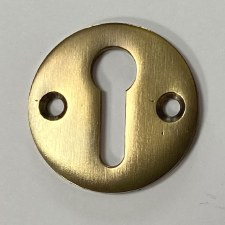 Aston Circular Escutcheon Antique Brass