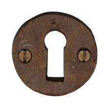 Heritage Escutcheon RBL553 Solid Bronze Rustic