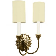 E'toile Twin Light Wall Light, Light Antique