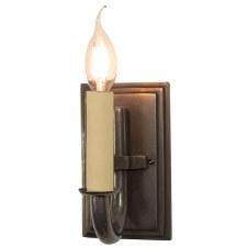 Eton Single Wall Light, Antique Brass