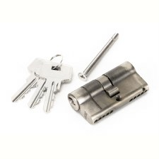 From The Anvil Euro Lock Cylinder 30/30 Pewter Key Alike