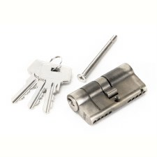 From The Anvil Euro Lock Cylinder 30/30 Pewter Key Differ