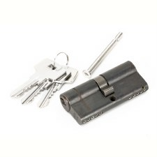 From The Anvil Euro Lock Cylinder 35/35 Aged Bronze Key Alike