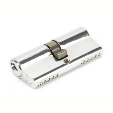 From The Anvil Euro Lock Cylinder 35/35 Polished Chrome Key Alike
