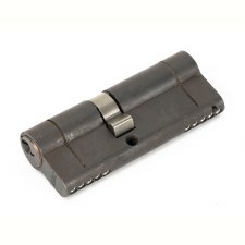 From The Anvil Euro Lock Cylinder 35/45 Aged Bronze Key Alike