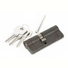 From The Anvil Euro Lock Cylinder 35/45 Aged Bronze Key Differ