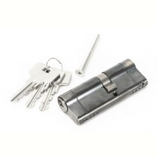 From The Anvil Euro Lock Cylinder 35/45 Pewter Key Differ