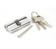 From The Anvil Euro Lock Cylinder 35/35 Polished Chrome Key Differ