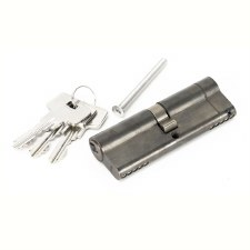 From The Anvil Euro Lock Cylinder 45/45 Aged Bronze Key Differ