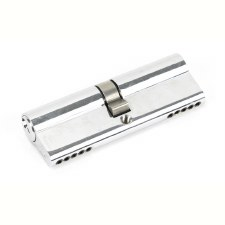 From The Anvil Euro Lock Cylinder 45/45 Polished Chrome Key Differ