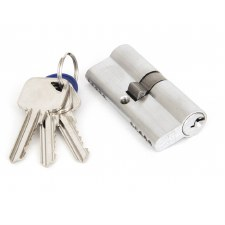 From The Anvil Euro Lock Cylinder 35/35 Satin Chrome
