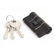 From The Anvil Euro Lock Cylinder 30/30 Black Keyed Alike