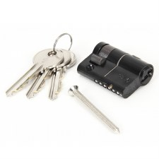 From The Anvil Euro Half Lock Cylinder 35/10 Black