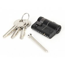 From The Anvil Euro Half Lock Cylinder 40/10 Black