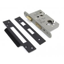 "From The Anvil Euro Sash Lock 2.5"" Black"