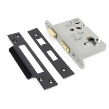"From The Anvil Euro Sash Lock 3"" Black"